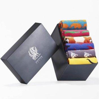 Bunte Socken Griffon Animal Box 6 Paar