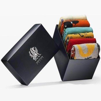 Bunte Socken Griffon Music Box 6 Paar
