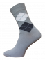 Preview: Business Herren socken 2122-016 hellgrau