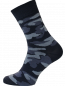 Mobile Preview: Herren Socken mit camouflage Muster grau camouflage