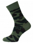 Mobile Preview: Herren Socken mit camouflage Muster khaki camouflage