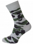 Mobile Preview: Herren Socken mit camouflage Muster pearl camouflage