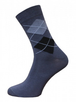 Business Herren socken 2122-016 grau