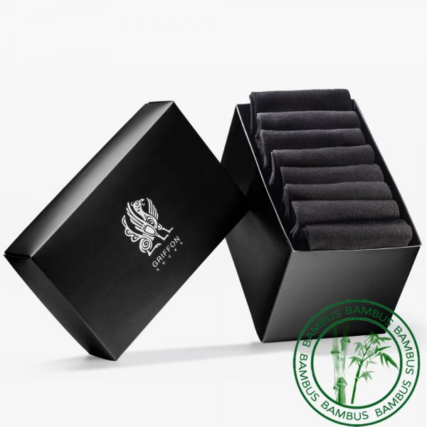 Griffon Low Bamboo Black Box 8 Paar